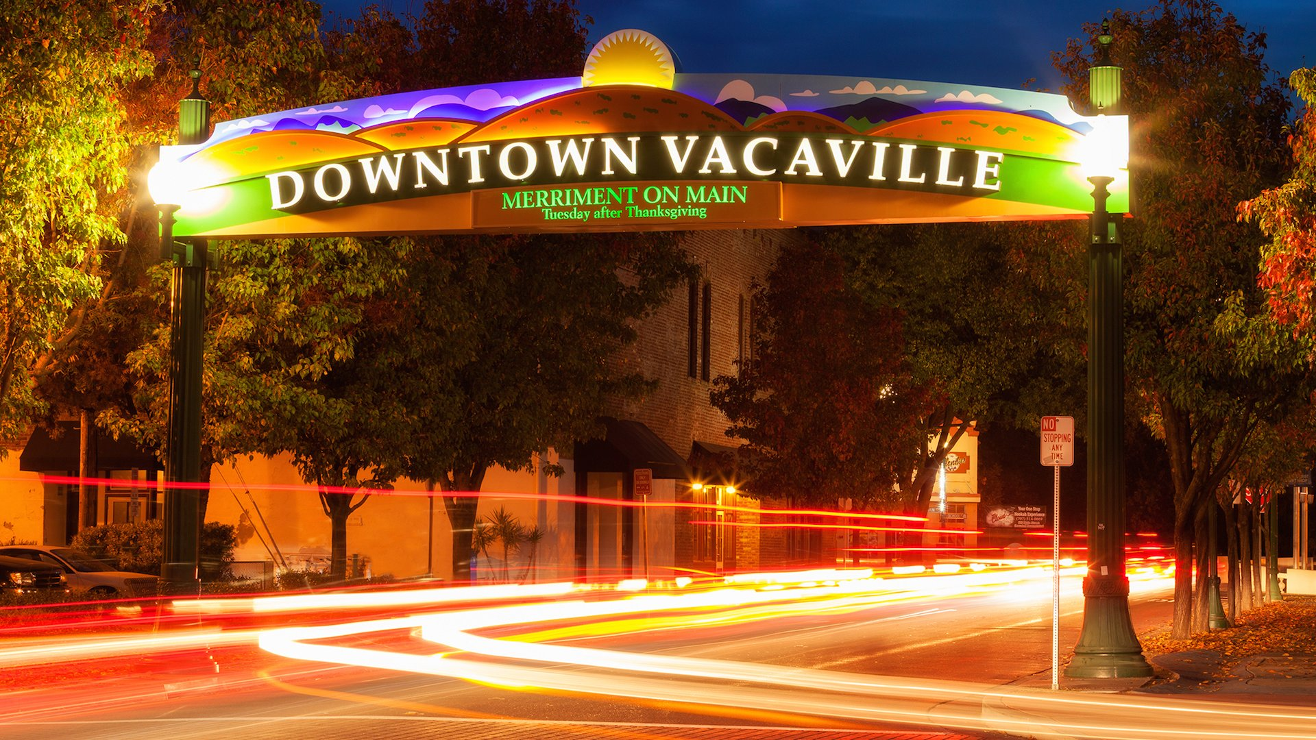 Experience a diverse selection of shops and dining options in charming downtown