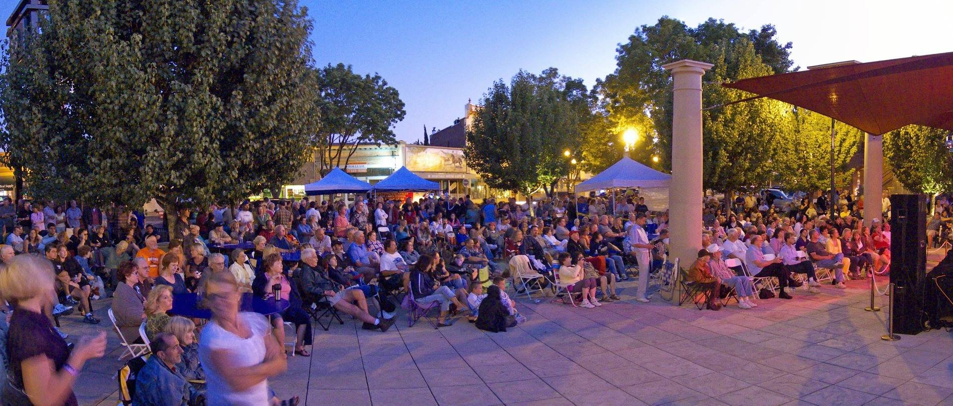 Enjoy Live Music in the Town Square