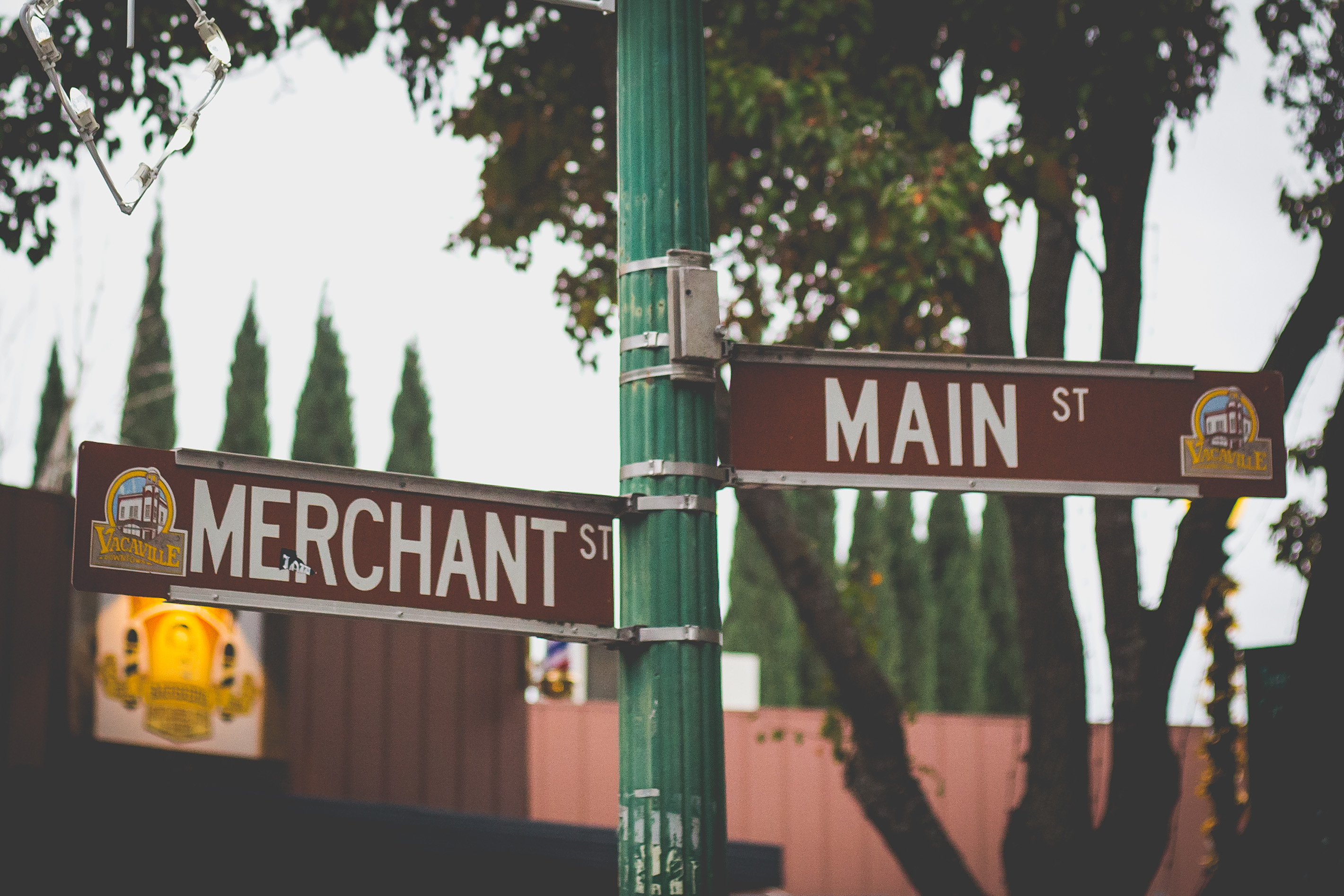 Downtown Vacaville - Merchant and Main