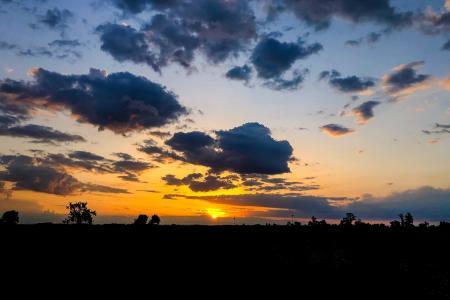 Dawn sunset