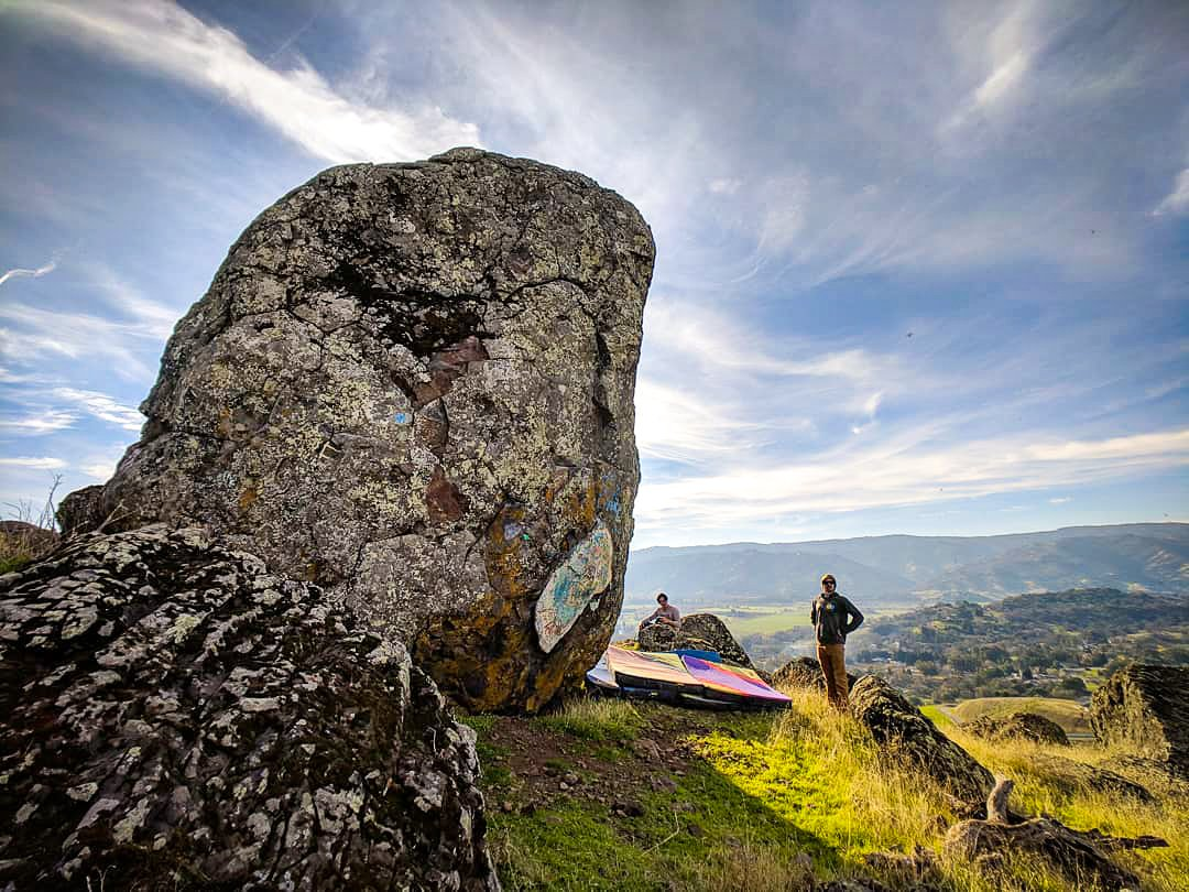 Tackle an unforgettable bouldering experience on the outskirts of town.