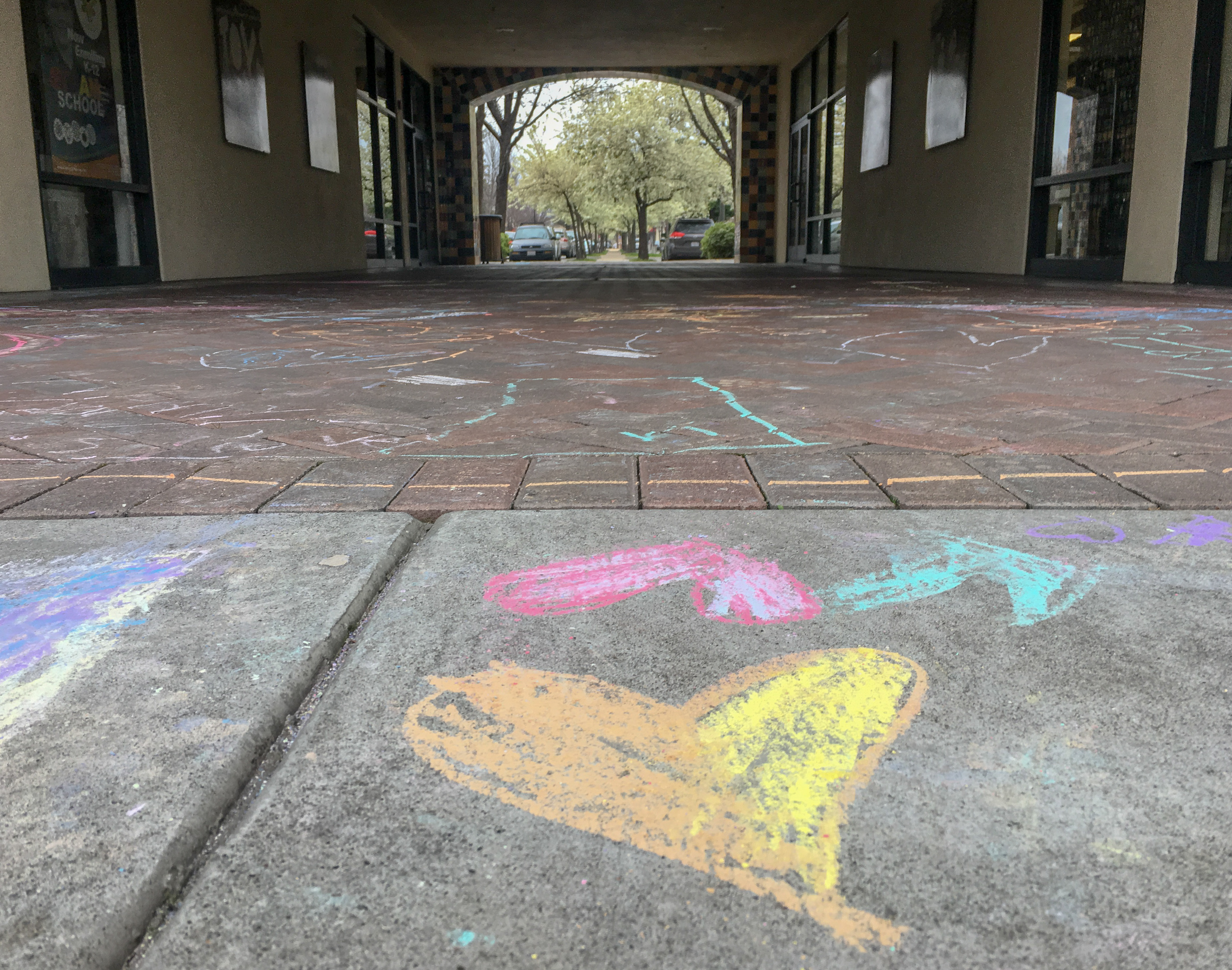 Big Kids and Adults Chalk Day at the Nut Tree