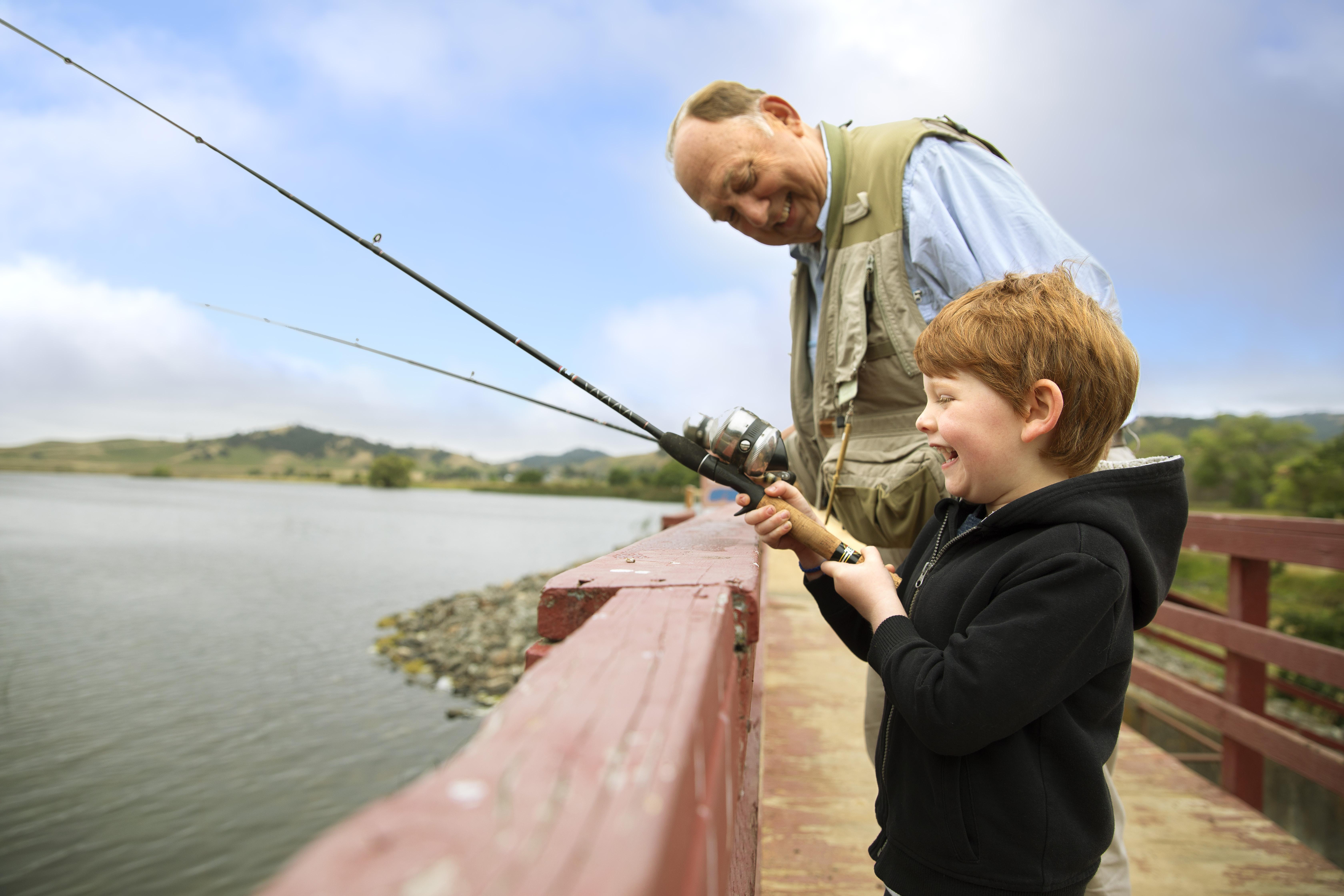 Vacaville Parks - Lagoon Valley Fishing
